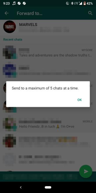 WhatsApp aplica medidas contra las cadenas de mensajes