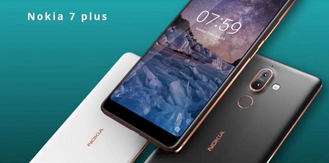 Nokia 7 plus recibe la actualización de noviembre