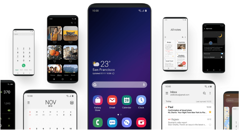 El Samsung Galaxy S9 se actualiza a Android Pie