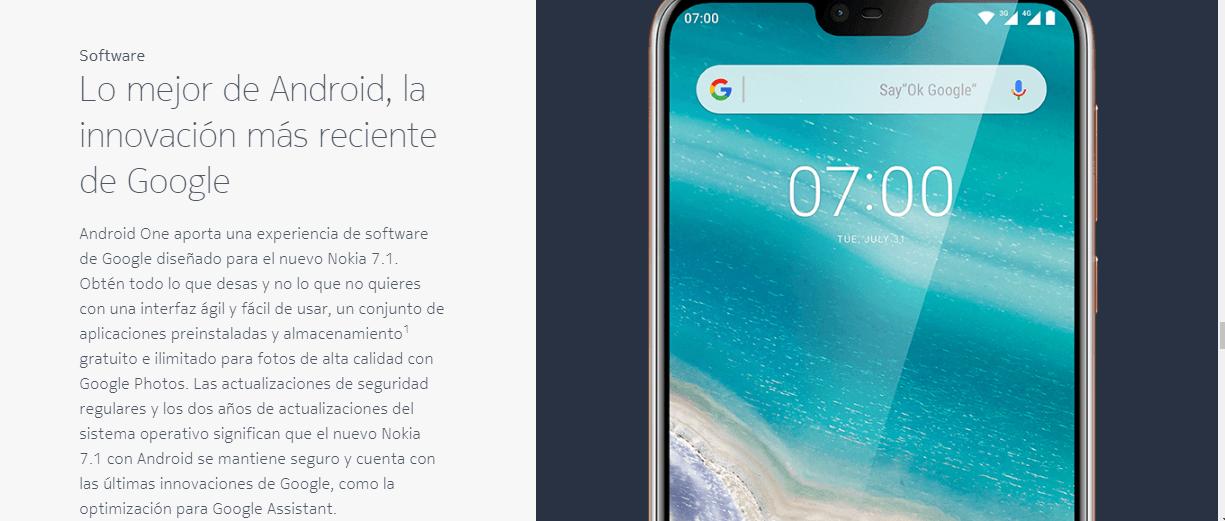 política de actualizaciones de Android One