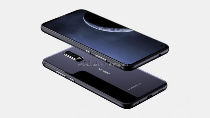 Nokia con hueco en pantalla