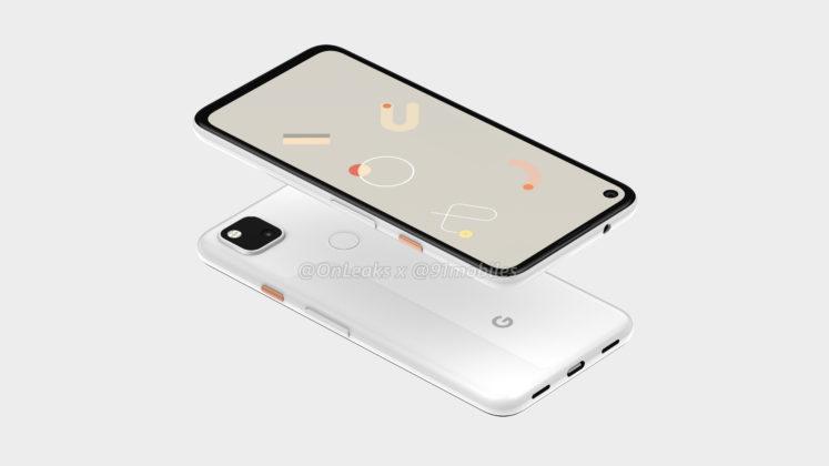Google Pixel 4a botones
