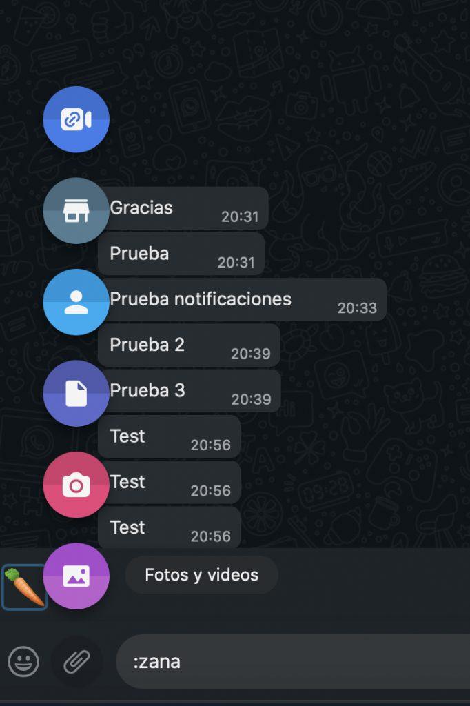 Adjuntar archivo Whatsapp Web