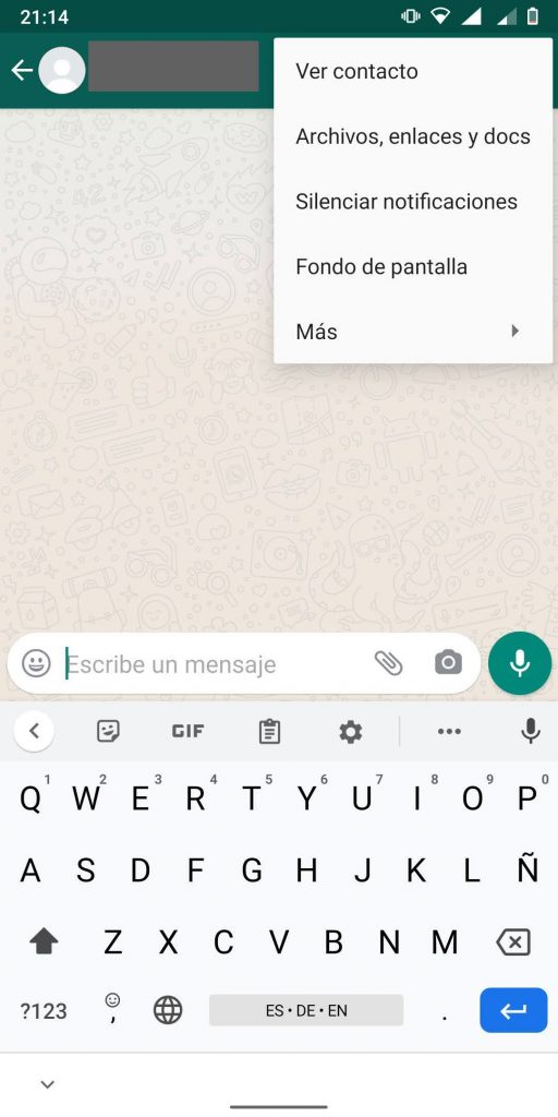 Fondos para Whatsapp para cada chat