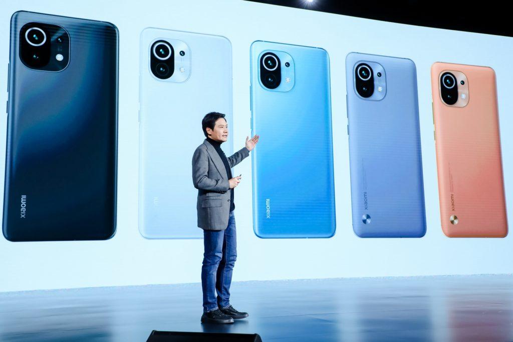 Xiaomi Mi 11 presentación